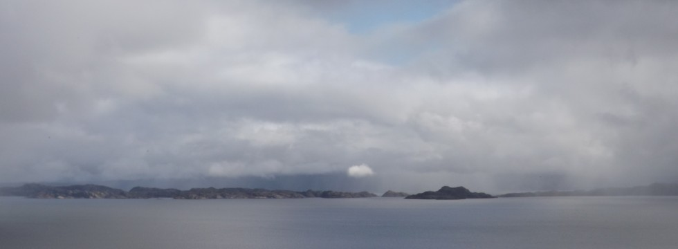 The Isle of Rona from the Isle of Skye.