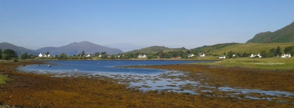 Loch Long by Dornie in Lochalsh.